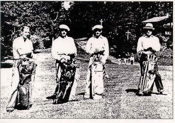 Caddies at Highlands Country Club